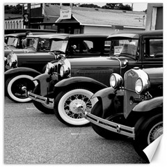 Vehicle Car Transportation Vintage Canvas 16  X 16