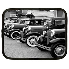 Vehicle Car Transportation Vintage Netbook Case (large)