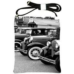 Vehicle Car Transportation Vintage Shoulder Sling Bags by Nexatart