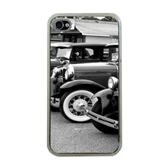 Vehicle Car Transportation Vintage Apple Iphone 4 Case (clear)