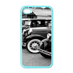 Vehicle Car Transportation Vintage Apple Iphone 4 Case (color)