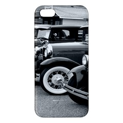 Vehicle Car Transportation Vintage Apple Iphone 5 Premium Hardshell Case by Nexatart