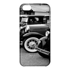 Vehicle Car Transportation Vintage Apple Iphone 5c Hardshell Case by Nexatart