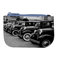 Vehicle Car Transportation Vintage Large Coin Purse