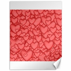 Background Hearts Love Canvas 36  X 48