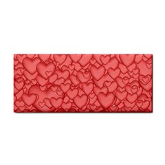 Background Hearts Love Cosmetic Storage Cases
