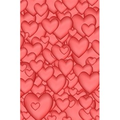 Background Hearts Love 5 5  X 8 5  Notebooks