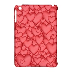 Background Hearts Love Apple Ipad Mini Hardshell Case (compatible With Smart Cover)