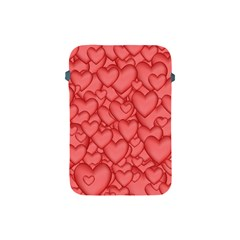Background Hearts Love Apple Ipad Mini Protective Soft Cases