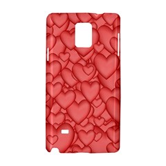 Background Hearts Love Samsung Galaxy Note 4 Hardshell Case