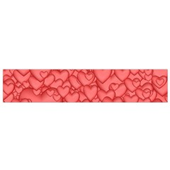 Background Hearts Love Small Flano Scarf