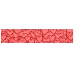 Background Hearts Love Large Flano Scarf