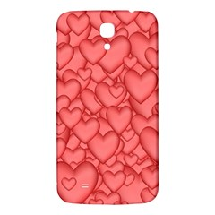 Background Hearts Love Samsung Galaxy Mega I9200 Hardshell Back Case