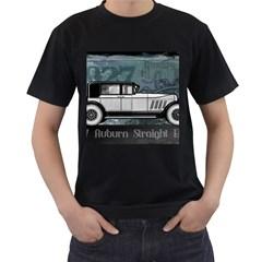 Vintage Car Automobile Auburn Men s T Shirt (black) (two Sided)
