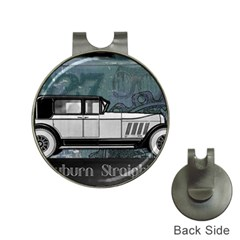 Vintage Car Automobile Auburn Hat Clips With Golf Markers