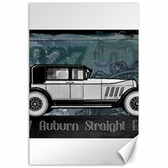 Vintage Car Automobile Auburn Canvas 20  X 30