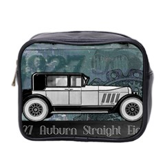 Vintage Car Automobile Auburn Mini Toiletries Bag 2 Side