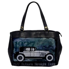 Vintage Car Automobile Auburn Office Handbags