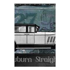 Vintage Car Automobile Auburn Shower Curtain 48  X 72  (small)