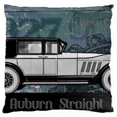 Vintage Car Automobile Auburn Large Cushion Case (two Sides)