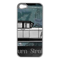 Vintage Car Automobile Auburn Apple Iphone 5 Case (silver)