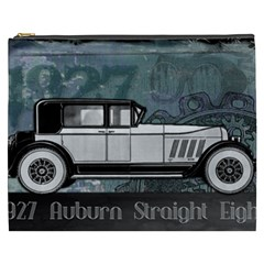 Vintage Car Automobile Auburn Cosmetic Bag (xxxl)