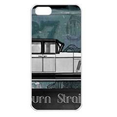 Vintage Car Automobile Auburn Apple Iphone 5 Seamless Case (white)
