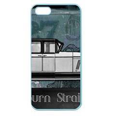 Vintage Car Automobile Auburn Apple Seamless Iphone 5 Case (color)