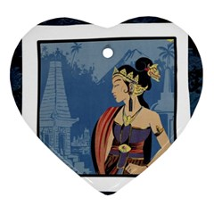 Java Indonesia Girl Headpiece Ornament (heart)