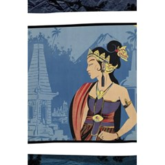 Java Indonesia Girl Headpiece 5 5  X 8 5  Notebooks