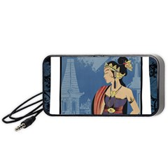 Java Indonesia Girl Headpiece Portable Speaker