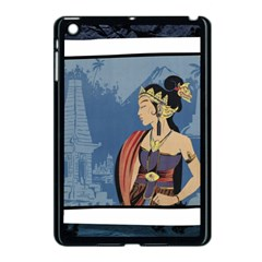 Java Indonesia Girl Headpiece Apple Ipad Mini Case (black)