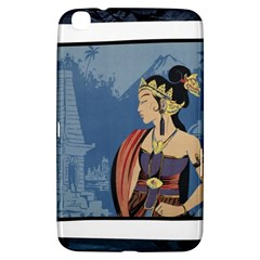 Java Indonesia Girl Headpiece Samsung Galaxy Tab 3 (8 ) T3100 Hardshell Case