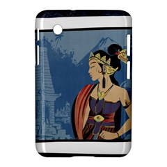 Java Indonesia Girl Headpiece Samsung Galaxy Tab 2 (7 ) P3100 Hardshell Case