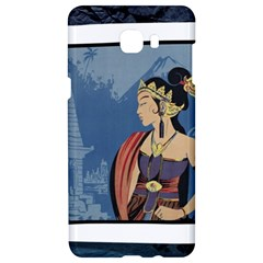 Java Indonesia Girl Headpiece Samsung C9 Pro Hardshell Case