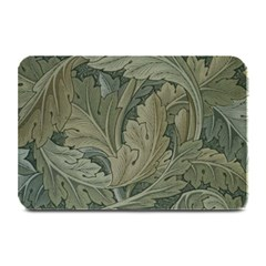 Vintage Background Green Leaves Plate Mats