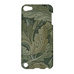 Vintage Background Green Leaves Apple Ipod Touch 5 Hardshell Case