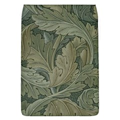Vintage Background Green Leaves Flap Covers (l)