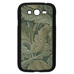 Vintage Background Green Leaves Samsung Galaxy Grand Duos I9082 Case (black)