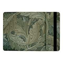 Vintage Background Green Leaves Samsung Galaxy Tab Pro 10 1  Flip Case by Nexatart