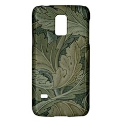 Vintage Background Green Leaves Galaxy S5 Mini
