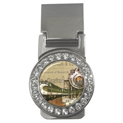 Train Vintage Tracks Travel Old Money Clips (cz)