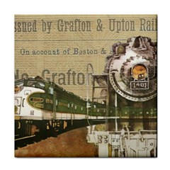 Train Vintage Tracks Travel Old Face Towel