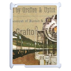 Train Vintage Tracks Travel Old Apple Ipad 2 Case (white)
