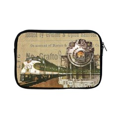 Train Vintage Tracks Travel Old Apple Ipad Mini Zipper Cases by Nexatart