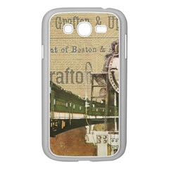 Train Vintage Tracks Travel Old Samsung Galaxy Grand Duos I9082 Case (white)