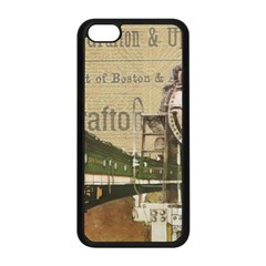 Train Vintage Tracks Travel Old Apple Iphone 5c Seamless Case (black)
