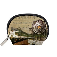 Train Vintage Tracks Travel Old Accessory Pouches (small)
