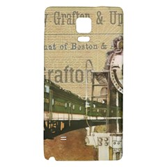 Train Vintage Tracks Travel Old Galaxy Note 4 Back Case