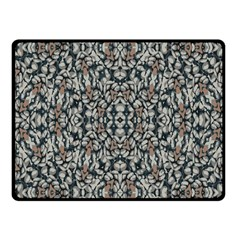Ornate Pattern Mosaic Fleece Blanket (small) by dflcprints